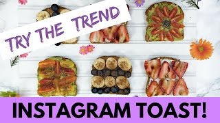 How to Make EPIC Instagram-Worthy Toast (TRY THE TREND) | Hollywire