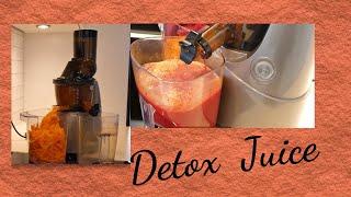 Detox Juice - Beet root + Carrot + Apple + Ginger + Lemon Juice