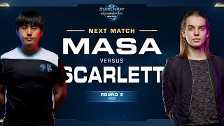 MaSa vs Scarlett TvZ - Round of 8 - WCS Winter Americas