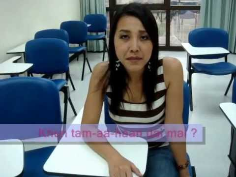 42 My Thai Language School : How to ask &quot; Can you ........? &quot; with Kroo joy