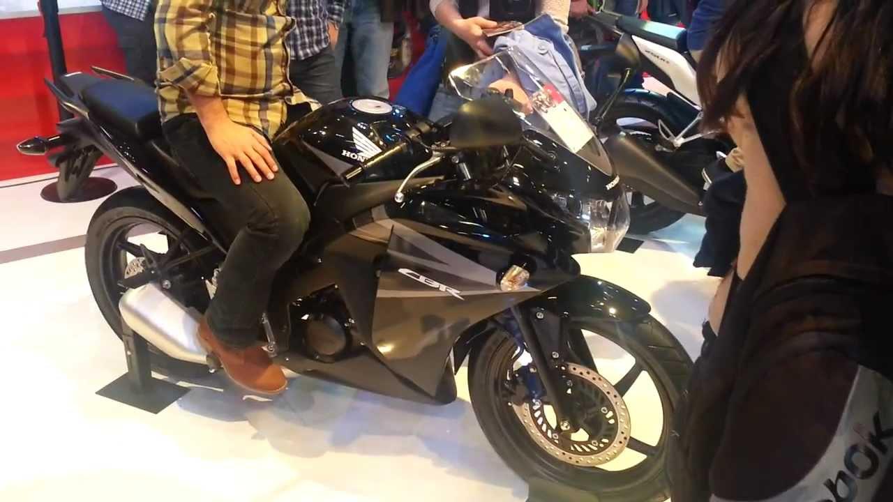 Honda Cbr125 R Motobike İstanbul Expo 2013 Youtube