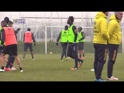 Cristian Rodriguez e Silvestre Varela: 1^ allenamento con il Parma