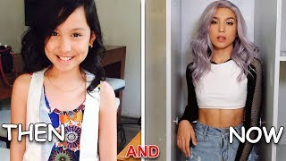 Andrea Brillantes  AND Just Jordan33 AND Kyline Alcantara (Before And After) Then And Now