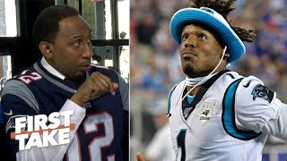 Stephen A. to Cam Newton: 'Good luck with that' on facing Aaron Donald in Week 1 | First Take