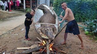 Cá Sấu Om Dưa - Lấy Du Thuyền Làm Nồi Om Cá Sấu Buồn Cười Hơn Hài Tết