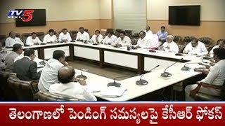 CM KCR Focus On Telangana Pending Issues - TV5News - netivaarthalu.com