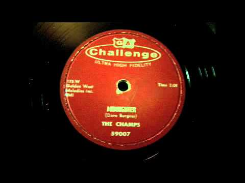 The Champs - Midnighter  78 rpm!