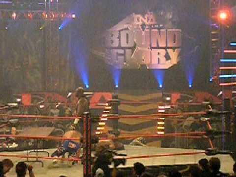 Edwin @ TNA Impact Wrestling's Bound For Glory - Full Metal Mayhem. Tag Team. 10/18/09
