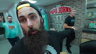 The Papa John's All-You-Can-Eat Deep Crust Launch Challenge | C.O.B. Ep.33