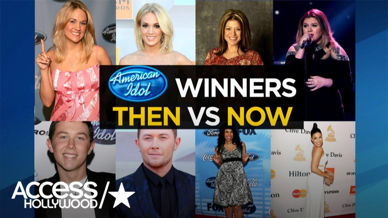 'Idol' Winners: Then & Now