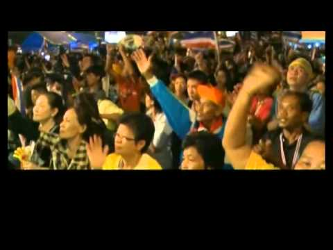 Thai PM Stays Firm On Election Amid Protests   16 January 2014 MUST SEE