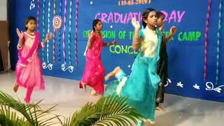 Don Bosco NEST Summer camp Dance Child rights center Peruchipalayam