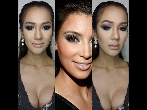Kim Kardashian MakeUp inspired แต่งตามเซเลบ คิม คาแดเชียน