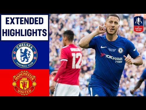 Chelsea 1-0 Manchester United | Hazard Wins it for Chelsea! | Emirates FA Cup Final 2017/18 thumbnail