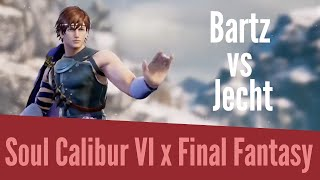 Soul Calibur 6 x Final Fantasy - Bartz VS Jecht