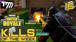 Fortnite: Battle Royale - TOP 10 KILLS OF THE WEEK #16 (Best Plays on Fortnite)