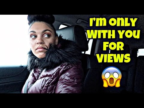 I'M ONLY WITH YOU FOR VIEWS PRANK!! *SHE LEFT ME*
