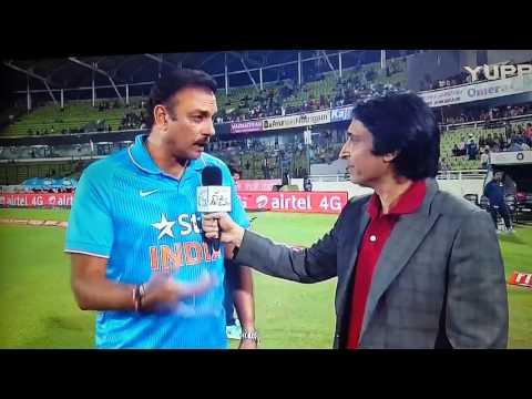 Ravi Shastri Interview aggressive : GET BLOODY....