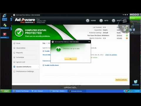 Ad-Aware Free Antivirus+ with Comodo Firewall (Default settings) - Test with more links