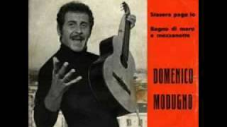 Watch Domenico Modugno Stasera Pago Io video