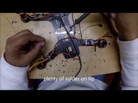 250 Mini H Quadcopter Scratch Build