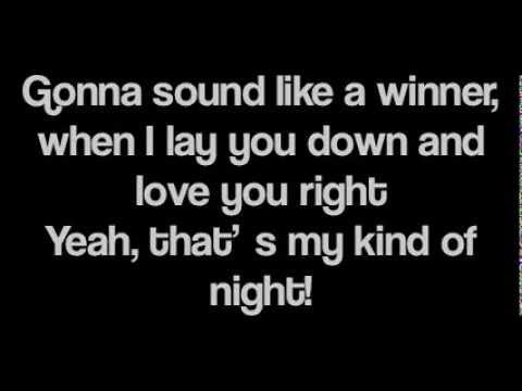 Luke Bryan - Thats My Kind Of Night ( Lyrics )