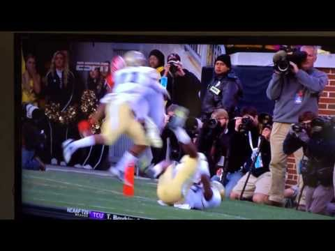Todd Gurley great dive for the touchdown