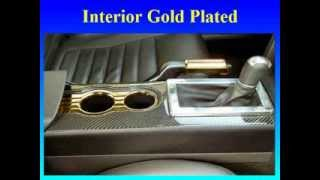 Automotive Gold Plating: Gold Plated Car Exterior
