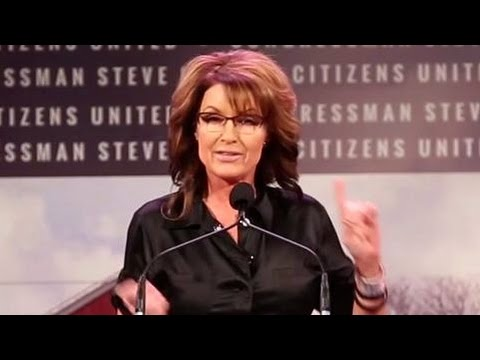 Sarah Palin's Bizarre Iowa Rant After Teleprompter Fails