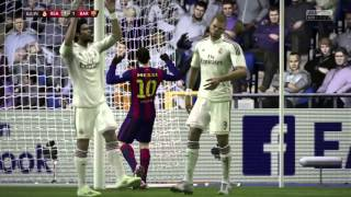 Fifa 15 vs mi tio (Real Madrid-Barcelona) 720p