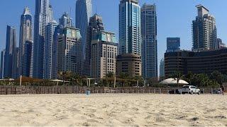 MARINA BEACH, DUBAI, JANUARY 2015