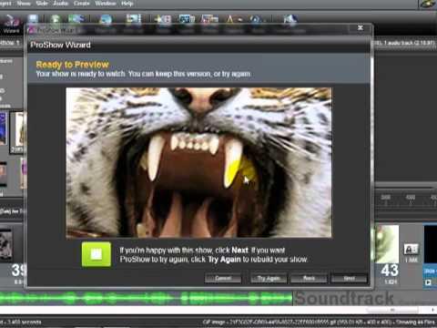 الدرس الثانى من شرح برنامج البرو شو 2012 عمل مشروع كامل وفيديو بدون التعديل عليه