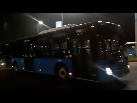 Az új Nextgen Mercedes Conectok megérkezése Délpesti autóbuszgarázsba (2020. Január 9.)
