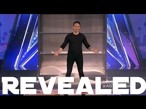 Revealed - Demian Aditya Escape Trick on AGT