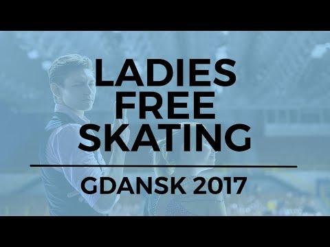 Alena KOSTORNAIA RUS Ladies Free Skating GDANSK 2017
