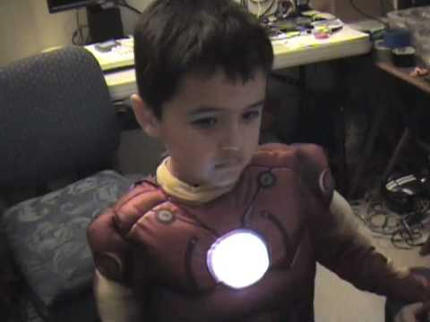 Iron Man Suit with Tech