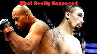 What Really Happened at UFC on FOX 24 (Jacare Souza vs Robert Whittaker)