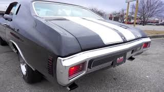 1970 CHEVELLE SS WITH ORIGINAL BUILD SHEET, DRIVING. FOR SALE!