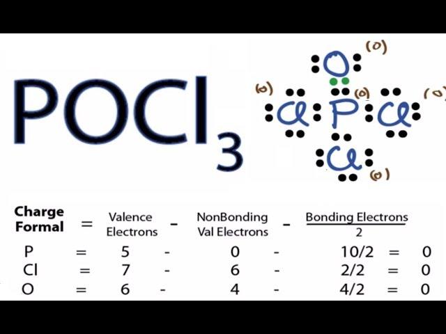 Cl3po Lewis Dot Structure