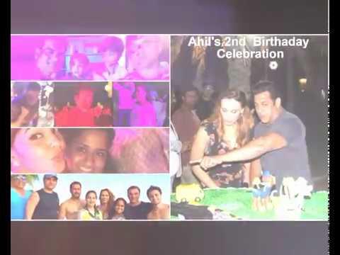Abu Dhabi | SALMAN KHAN's Nephew BIRTHDAY celebration | Rare Videos & Photos