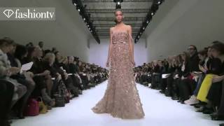 Elie Saab Spring 2012 Show at Paris Couture Fashion Week ft Toni Garrn and Anja Rubik