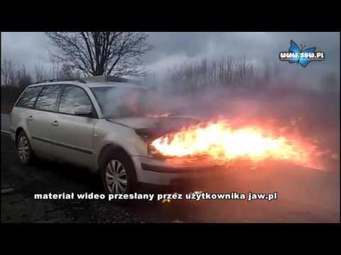 Na Krakowskiej Palił Się Samochód