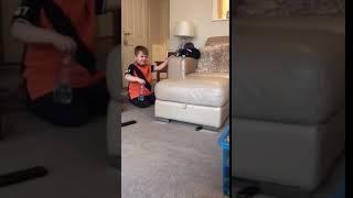 Mini dude perfect bottle flip