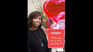 """Gemini """" IT MAY LOOK GOOD BUT IS IT?"""" FEBRUARY MONTHLY ENERGIES AND LOVE WEEKLY READING"""