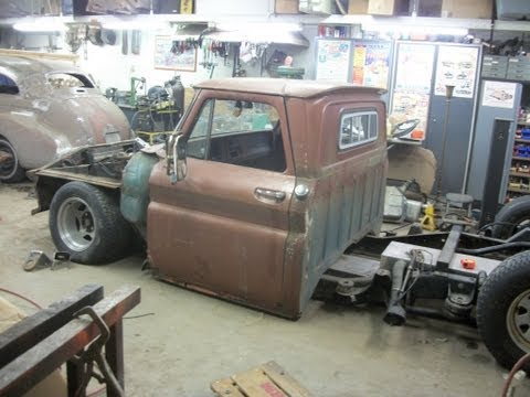 66 c10 Air ride project: Shortening Frame