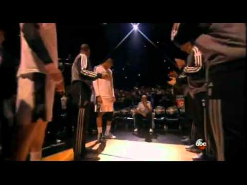 2013 NBA Finals San Antonio Spurs Introduction + Starting Lineup