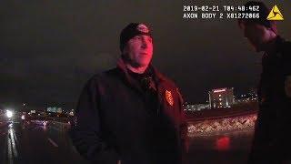 Police body cam shows Coach Jim Boeheim after fatal crash