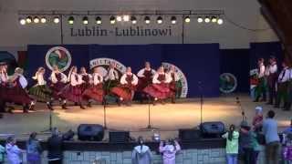 """Tańce opoczyńskie - Koncert ZPiT Lublin"""" Lublin-Lublinowi"""" 22.06.2014"""