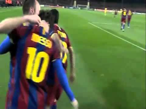 Amazing Lionel Messi Goal vs Arsenal