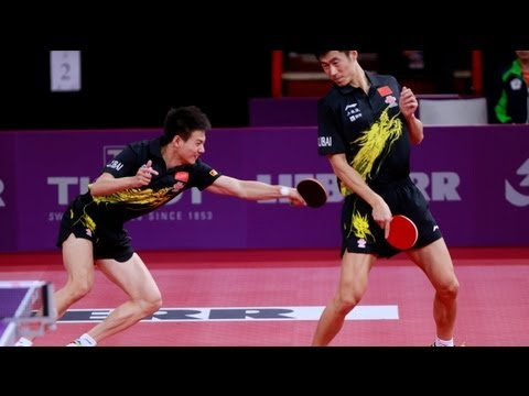 WTTC 2013 Highlights: Wang Liqin/Rao Jingwen vs Lee Sang Su/Park Young Sook (1/2 Final)